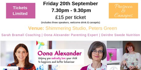 Parenting, Well-being and Self Care  tickets