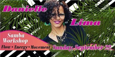 Danielle Lima Samba Workshop tickets