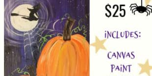 Witch & Pumpkins- Thur Oct 24th at 7pm @ The Kreativ Studio