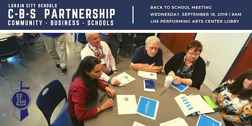 Community-Business-Schools (C-B-S) Partnership September Meeting