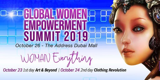 GLOBAL WOMEN EMPOWERMENT SUMMIT 2019