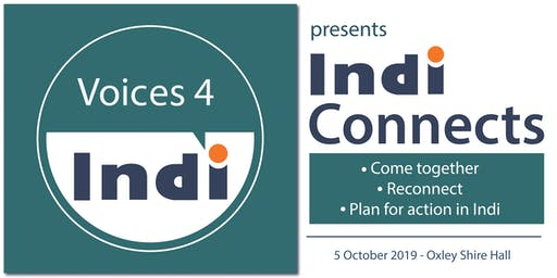 Indi Connects - Come together, reconnect and plan for action in Indi