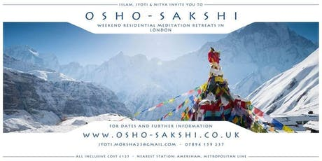 Osho Sakshi Residential Meditation Retreats tickets