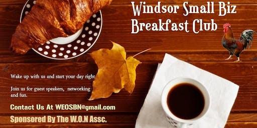 W.O.N Small Biz Breakfast Sept 25th 8:30 To 10:30 Lumberjack Restaurant