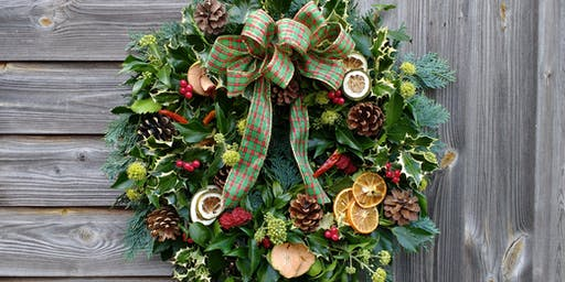 SOLD OUT. Christmas Wreath Workshop, Sutton cum Lound, Notts