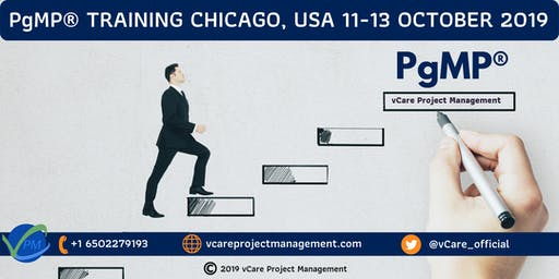 PgMP | Program Management Training | Chicago | October | 2019