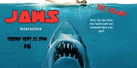 Jaws (1975) Interactive tickets