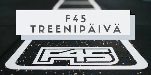 F45 Treenipäivä