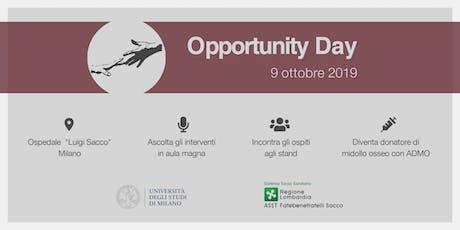 Opportunity Day 2019 biglietti