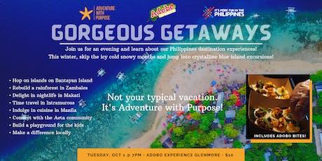 Gorgeous Getaways tickets