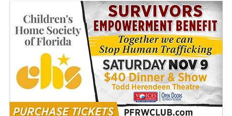 "A Survivors Empowerment Benefit - ""We're Not For Sale!"" tickets"