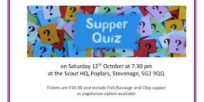 Stevenage Haven annual fish supper quiz