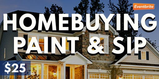 Home-buying Paint & Sip