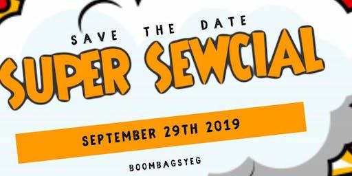 #boombagsYEG & Ritchie Community League present: SUPER SEWcial