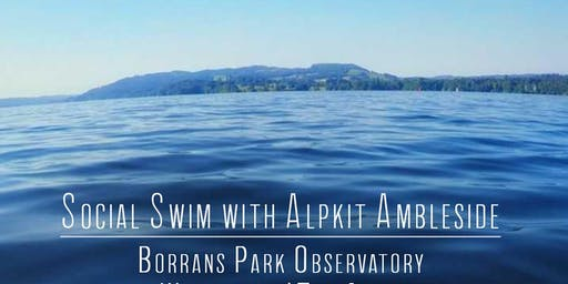 Social Swim with Alpkit Ambleside