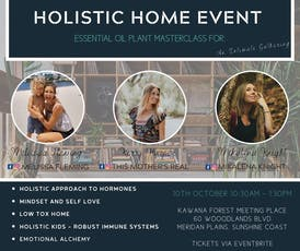 Holistic Home Event - Essential Oil Plant Masterclass tickets