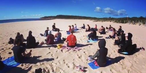 Free Community Meditation by the Ocean- Maroubra Beach Each Saturday 8.45am