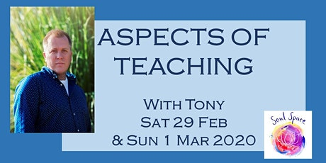 ASPECTS OF TEACHING (1) - 2 Day Workshop with Tony Stockwell  tickets