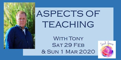 ASPECTS OF TEACHING (1) - 2 Day Workshop with Tony Stockwell