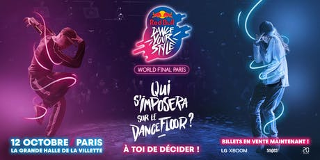 Red Bull Dance Your Style - World Final Paris tickets