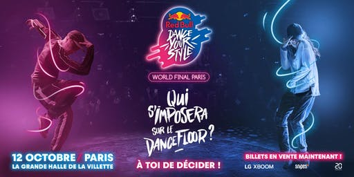 Red Bull Dance Your Style - World Final Paris