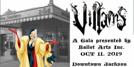 Villains Gala tickets