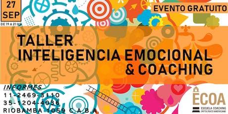 TALLER DE INTELIGENCIA EMOCIONAL Y COACHING entradas