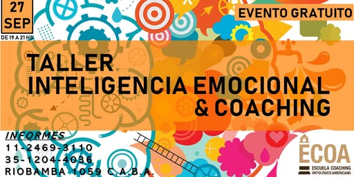 TALLER DE INTELIGENCIA EMOCIONAL Y COACHING