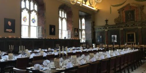 25th Anniversary Dinner at Trinity College, Oxford