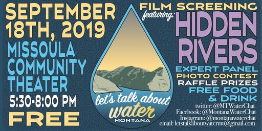 Let's Talk About Water Montana Film & Discussion