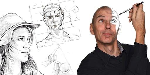 Portrait zeichnen ohne Vorkenntnisse