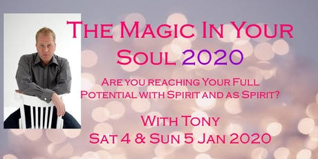 The Magic In Your Soul 2020 tickets