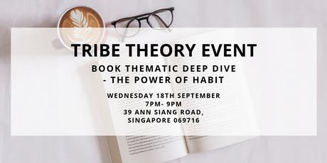 Book Thematic Deep Dive - The Power of Habit tickets