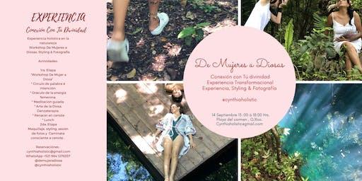 Rebirth, Jungle Holistic Experiences, Riviera Maya- Workshop - Styling - Photoshooting