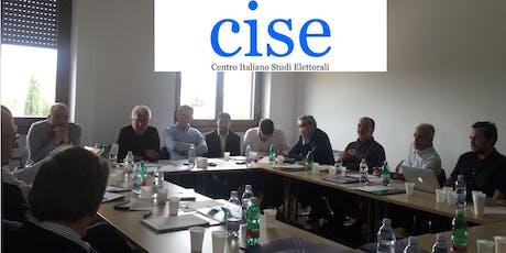 The CISE Seminar Series - 12 Dec. biglietti