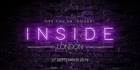 Inside London: September '19 tickets