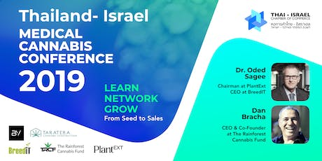 Thailand - Israel Medical Cannabis Conference tickets