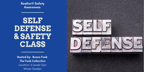 Realtor® Self Defense & Safety Class tickets
