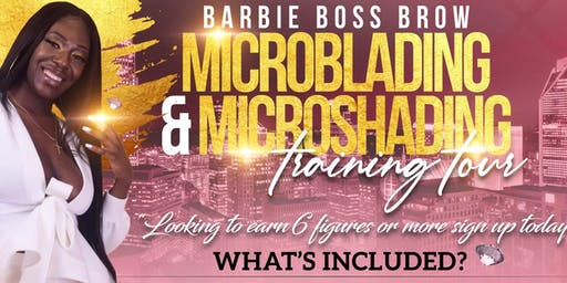 Microblading Training Course -$899