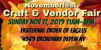 Novemberfest Craft & Vendor Fair