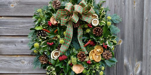 SOLD OUT. Christmas Wreath Workshop, Ye Olde Bell.