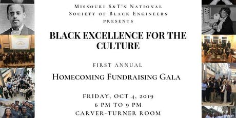 Missouri S&T's NSBE Black Excellence for the Culture Fundraising Gala tickets