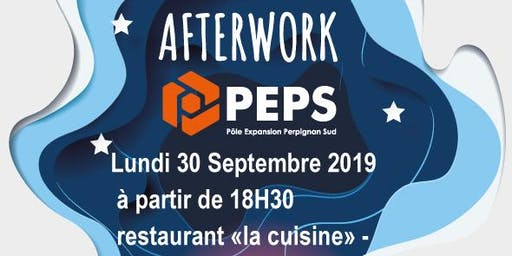 Afterwork PEPS lundi 30 septembre 2019