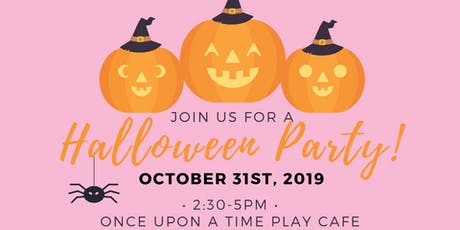 Halloween Party with Princesses! tickets