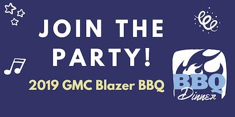 GMC Blazer BBQ w/ Shortfields Dinner, Synergy Twins, & Live/Silent Auctions tickets