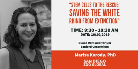SoCal Stem Cell Seminar Series: October, Marisa Korody, PhD tickets