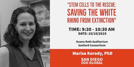 SoCal Stem Cell Seminar Series: October, Marisa Korody, PhD tickets