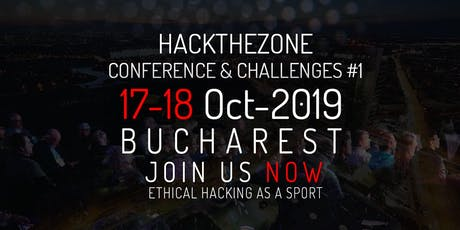 HackTheZone Conference & Challenges #1 tickets