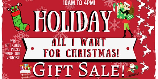 All I Want For Christmas Holiday Gift Shopping Event!