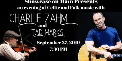 Charlie Zahm and Tad Marks - Celtic Music at Showcase on Main